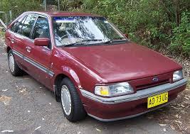 File:1987-1990 Ford Laser (KE) Ghia 5-door hatchback 01.jpg ...