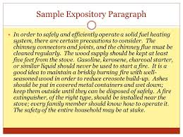 "from the french word ""essayer"" meaning to attempt to try ppt  19 sample expository paragraph"