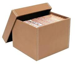 excellent tan leather storage box ideas for the house in boxes popular cardboard furniture s cd storage box
