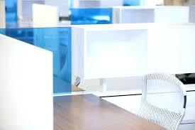 office blue. Blue Glass Computer Desk Astonishing Office Separator Interior Modern Home Furniture Table R