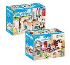 Playmobil Modernes Wohnhaus Möbelset 9268 9269 Wohnküche Neu