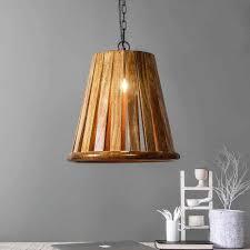 Buy Manhattan Wood Pendant Lamp Online Pendant Lamps Fabuliv