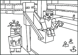 Minecraft Coloring Pages Printable Page Best Of Herobrine Auchmar