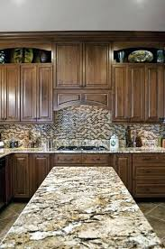 coffee brown granite color banner standard kitchen backsplash or tile black countertop