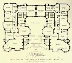 halliwell manor floorplan new 18th century english manor house plans