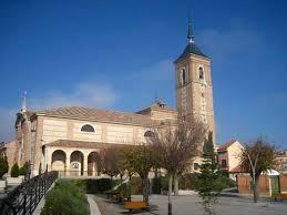 Resultado de imagen de fotos iglesia de ajalvir