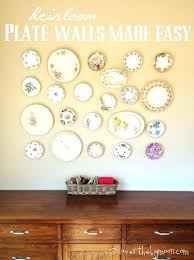 wall hangers for plates how wall rack decorative plates