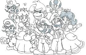 Free Mario Coloring Pages Free Super Mario Kart Coloring Pages Free