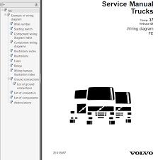volvo trucks fe wiring diagram service manuals pdf repair manual volvo trucks fe wiring diagram service manuals pdf