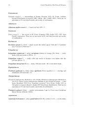 An annoted checklist of the flora of the Abruzzo Fabio Conti