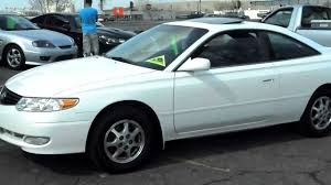 2002 Toyota Camry Solara SE, 2dr coupe, 4cyl, FRESH TRADE IN ...