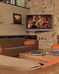 corner tv tv installation wall mounted tv