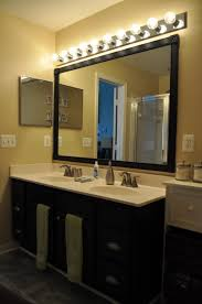 bathroom vanity mirror lights. Amazing Of Above Vanity Lighting Witching Bathroom Mirror And Light Ideas Using Black Large Lights I