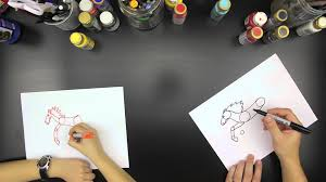 Small Picture How To Draw A Horse for kids YouTube