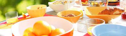 Assiette En Mélamine Et Article Cuisine Accessoires Camping