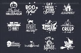 Halloween svg files for using with your electronic cutting machines, terms of use can be found within your downloads or by clicking here. Halloween Svg Bundle Halloween Quotes Svg Cut Files By Craft N Cuts Thehungryjpeg Com