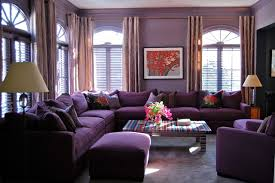 Small Picture Modern Purple Living Room DECORATION
