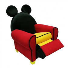 mickey mouse recliner chair