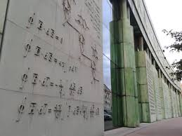 Maxwell     s Equations on the walls outside Warsaw University    ECE Reddit