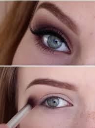 makeup tutorials for blue eyes basic brown smokey eye tutorial easy step by step