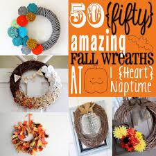 Fall Wreath 50 Amazing Fall Wreaths I Heart Nap Time