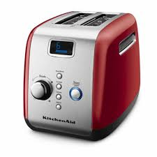 kitchenaid artisan toaster 2 slice toaster empire red