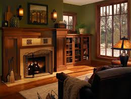... Exquisite Craftsman Style Molding For Your Interior Decoration :  Delectable Living Room Decoration With Light Green ...