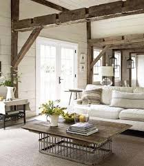 country home interior ideas.  Home Living Room Design With Salvaged Wood Beams Country Home Decorating Ideas On Country Home Interior Ideas 9