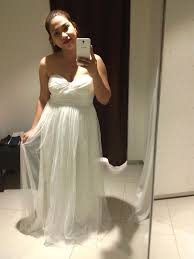 My Rtw Wedding Gown Search And Finding The One Mommy Practicality