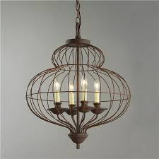 six light wire urn chandelier shades of light wire chandelier