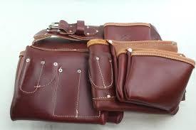 occidental leather 5089 seven bag framer belt