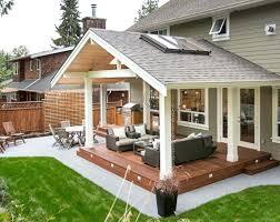back porch ideas covered back porch backyard patio plans how to design idea 8 side porch