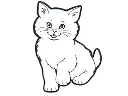 Free Printable Cat Coloring Pages Halloween Warrior Christmas