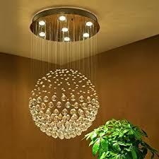 crystal chandelier ceiling light pendant lamp lighting flush mount bedroom luxury saint mossi chandelier modern k9