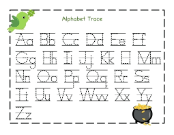 Free Tracing Worksheets For Preschoolers Free Printable Alphabet ...