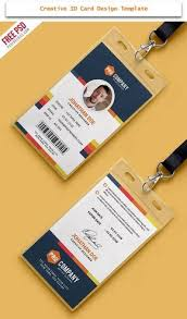 Id Cards Templates Free Downloads 30 Creative Id Card Design Examples With Free Download Business