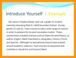 How To Write About Yourself Examples Narrative Writing A Personal