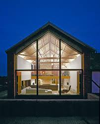 Glass house exterior contemporary with glass house barn conversion ...