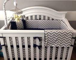 blue and grey crib bedding crib bedding set gray white navy blue with options by on blue and gray elephant crib bedding