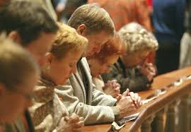 Image result for pictures of people at the altar