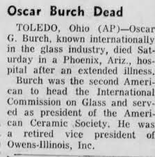 Obituary for Oscar G. Burch - Newspapers.com