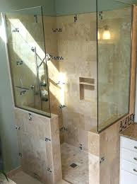 shower dimensions delightful bathroom designs showers without doors stall small walk in large di