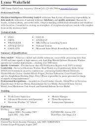 Security Clearance Resume Example Army To Civilian Resume Examples