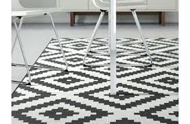 ikea black white rug and australia nz striped