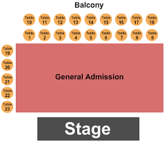 Knitting Factory Concert House Seating Chart Boise