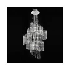 camille modern glass ceiling chandelier in chrome finish camille 24ch