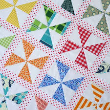 Best 25+ Pinwheel quilt pattern ideas on Pinterest | Pinwheel ... & Red Pepper Quilts: Pinwheels on Parade Quilt and New Quilt Pattern - the  the use of the red dotted fabric. Adamdwight.com
