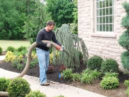 best mulch for garden. Plain For Mulch Maintenance Mulch Blown Installation Blower Mulching To Best For Garden