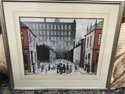 l s lowry prints in frames