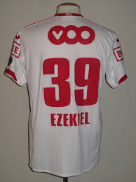 Standard Luik 2012-13 Away shirt MATCH WORN #39 Imoh Ezekiel – Belgian  Football Classics